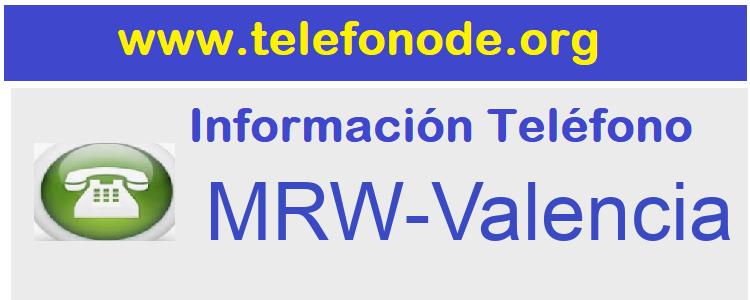 Telefono  MRW-Valencia