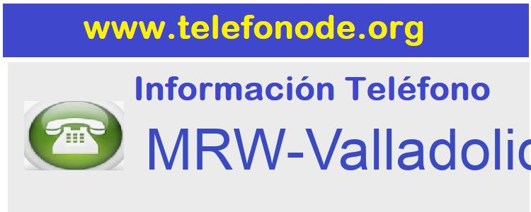 Telefono  MRW-Valladolid