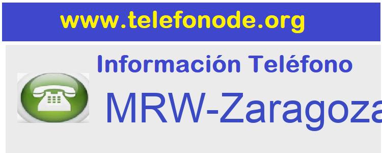 Telefono  MRW-Zaragoza