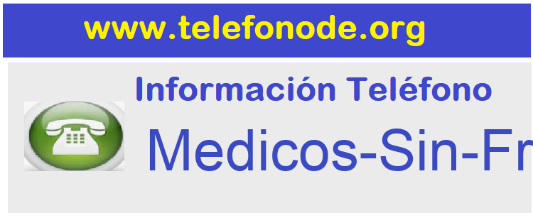 Telefono  Medicos-Sin-Fronteras