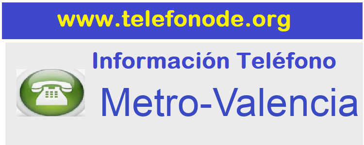 Telefono  Metro-Valencia