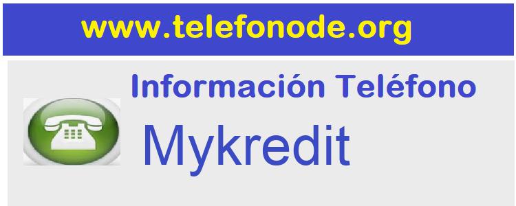 Telefono  Mykredit