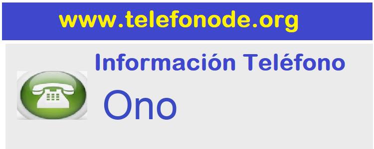 Telefono  Ono