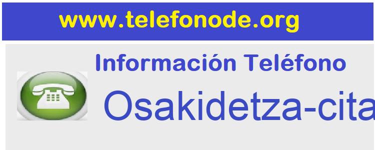 Telefono  Osakidetza-cita-previa