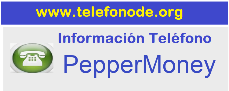Telefono  PepperMoney