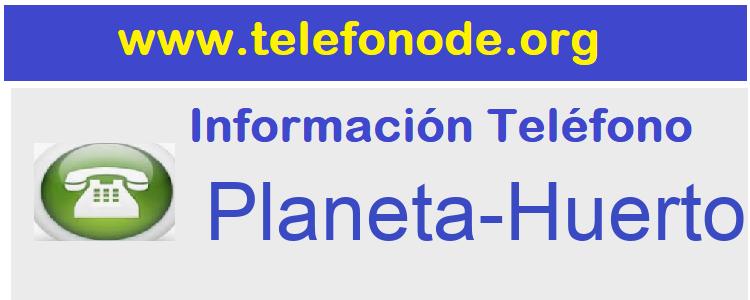 Telefono  Planeta-Huerto
