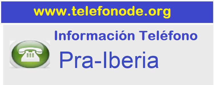 Telefono  Pra-Iberia
