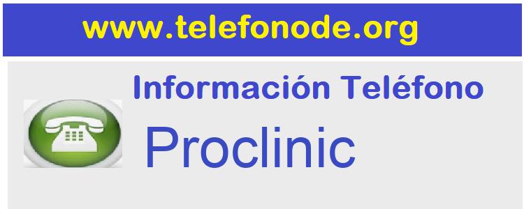 Telefono  Proclinic
