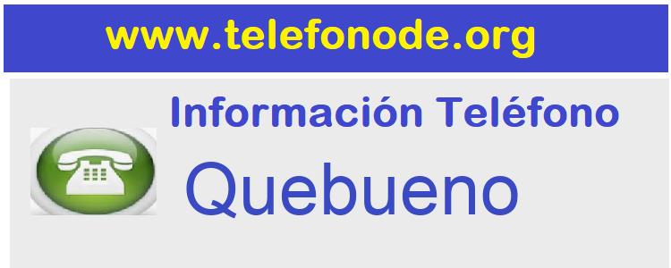 Telefono  Quebueno