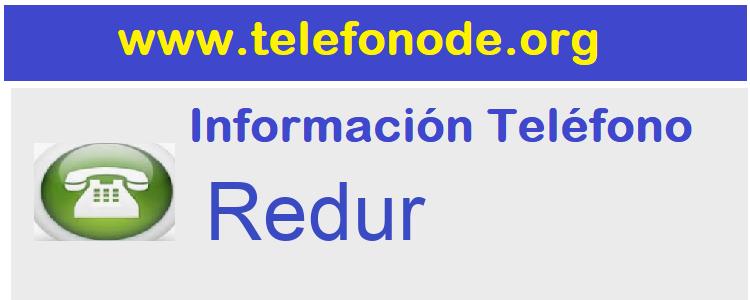 Telefono  Redur