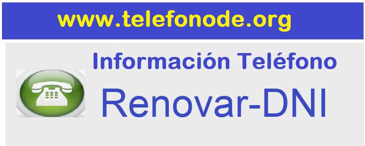 Telefono  Renovar-DNI