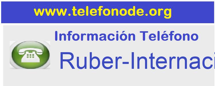 Telefono  Ruber-Internacional