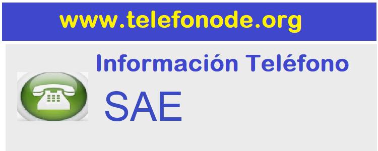Telefono  SAE