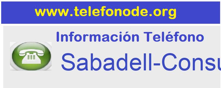 Telefono  Sabadell-Consumer