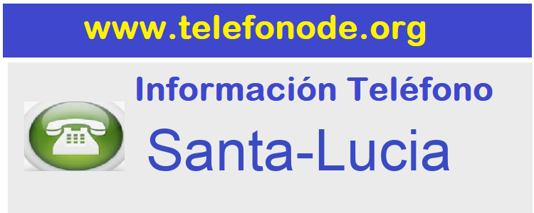 Telefono  Santa-Lucia