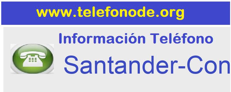 Telefono  Santander-Confirming