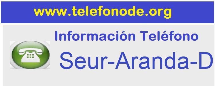 Telefono  Seur-Aranda-Duero