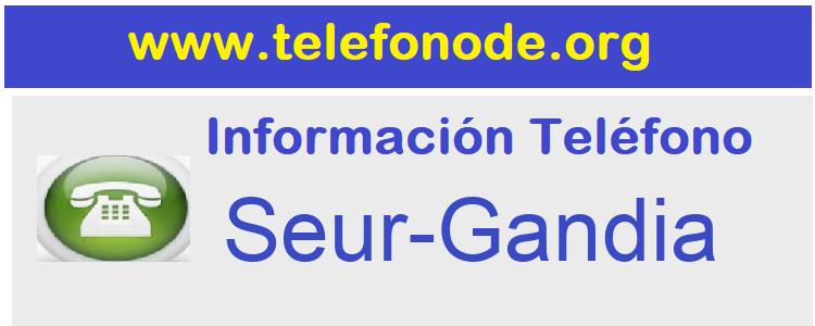 Telefono  Seur-Gandia