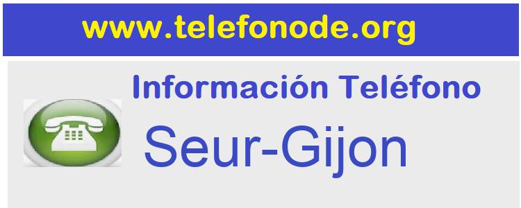 Telefono  Seur-Gijon