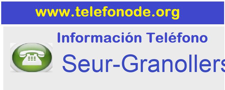 Telefono  Seur-Granollers
