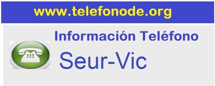 Telefono  Seur-Vic