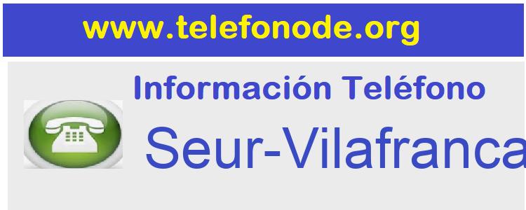 Telefono  Seur-Vilafranca