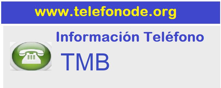 Telefono  TMB