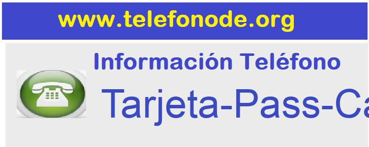 Telefono  Tarjeta-Pass-Carrefour
