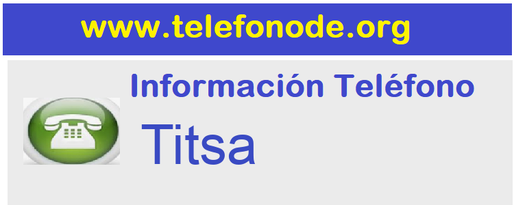 Telefono  Titsa