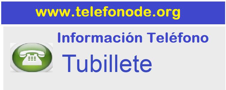 Telefono  Tubillete