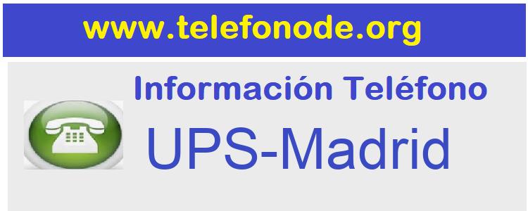 Telefono  UPS-Madrid