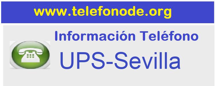 Telefono  UPS-Sevilla