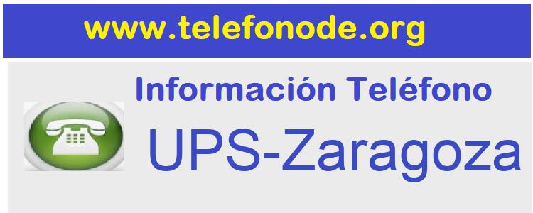Telefono  UPS-Zaragoza