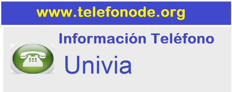 Telefono  Univia