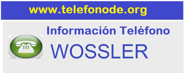 Telefono  WOSSLER