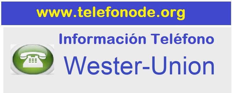 Telefono  Wester-Union