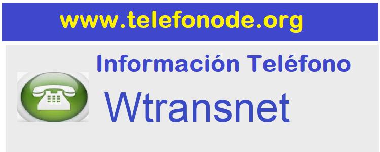 Telefono  Wtransnet