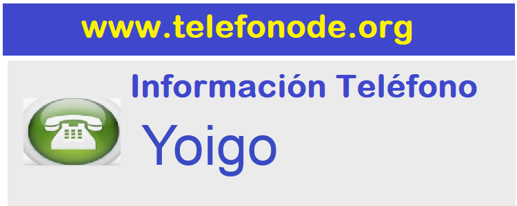 Telefono  Yoigo