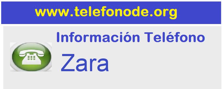 Telefono  Zara
