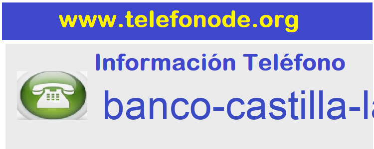 Telefono  banco-castilla-lamancha