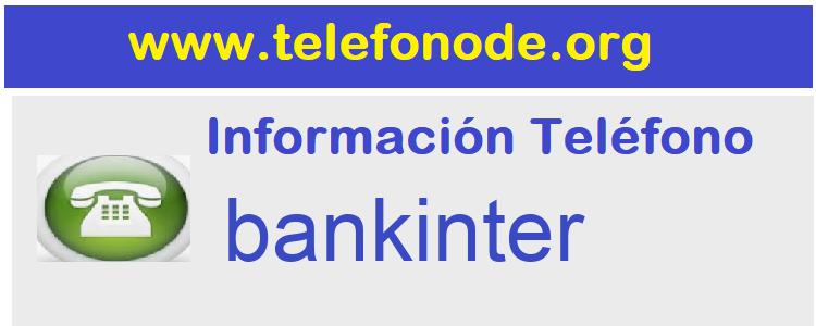 Telefono  bankinter