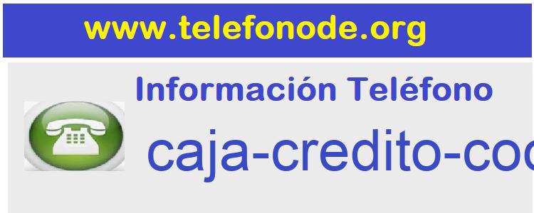 Telefono  caja-credito-cooperativo