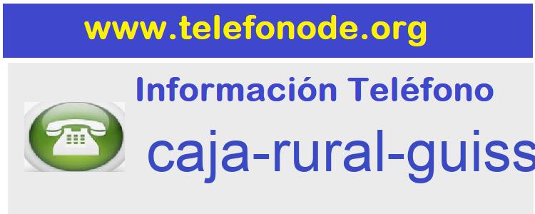 Telefono  caja-rural-guissona