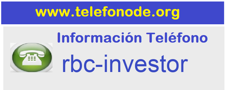 Telefono  rbc-investor