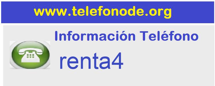 Telefono  renta4