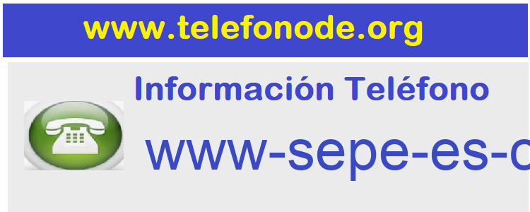 Telefono  www-sepe-es-cita-previa